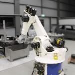 robot in mashine hall