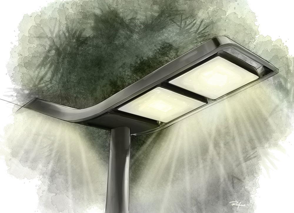 wave LED street lighting for SILL – thingk-design berlin