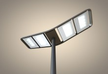wave LED street lighting for SILL
