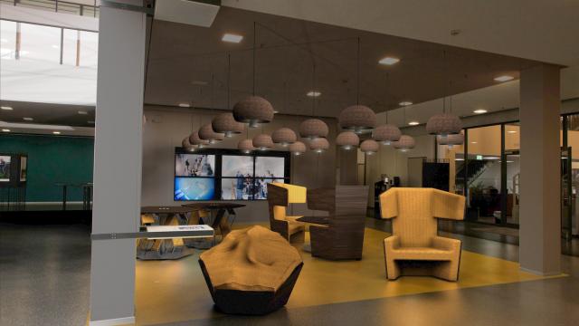 (Deutsch) Hexagon Lounge